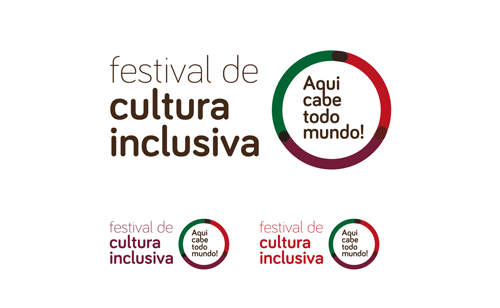 logo festival de cultura inclusiva