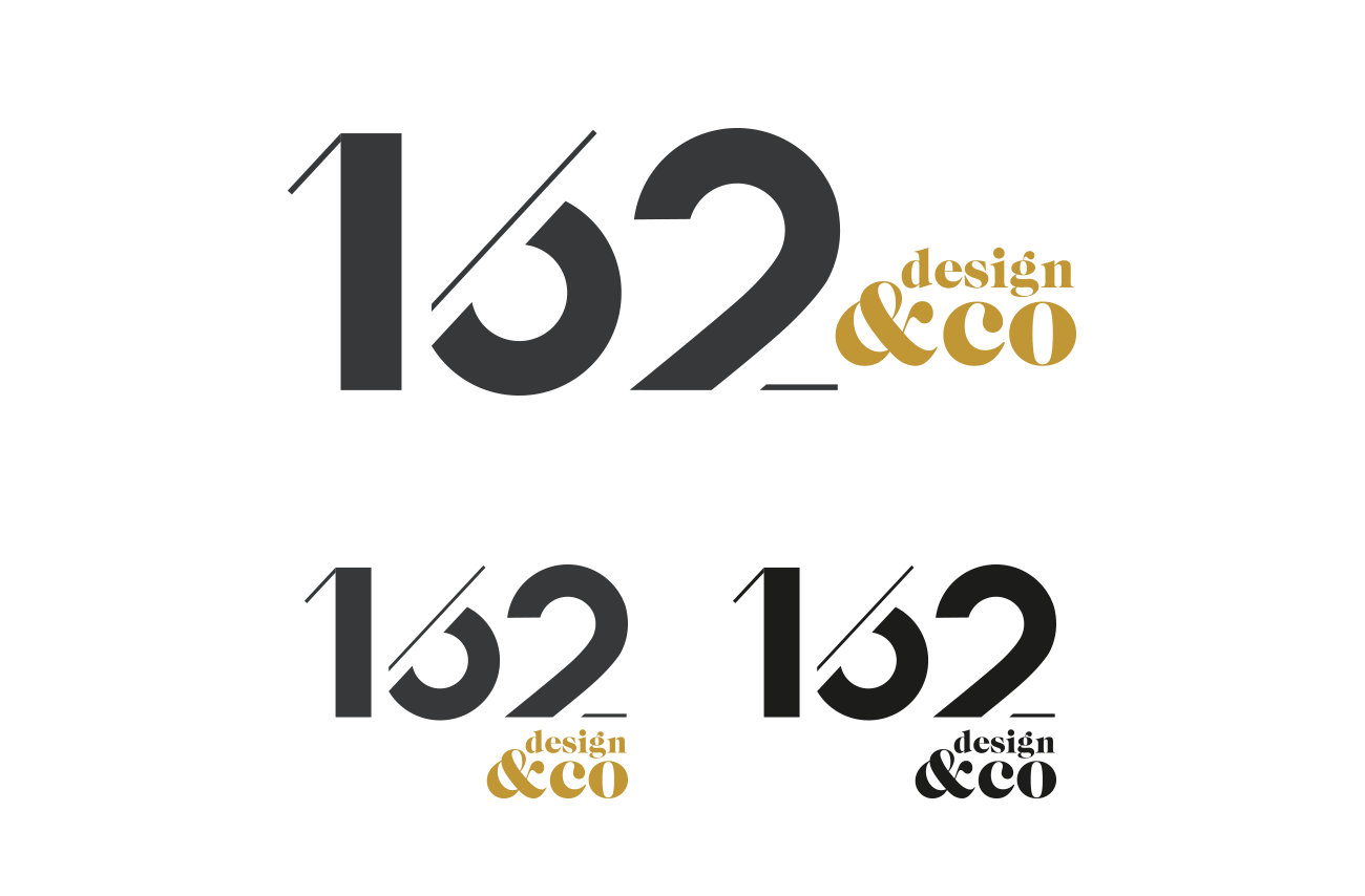 162 design logo