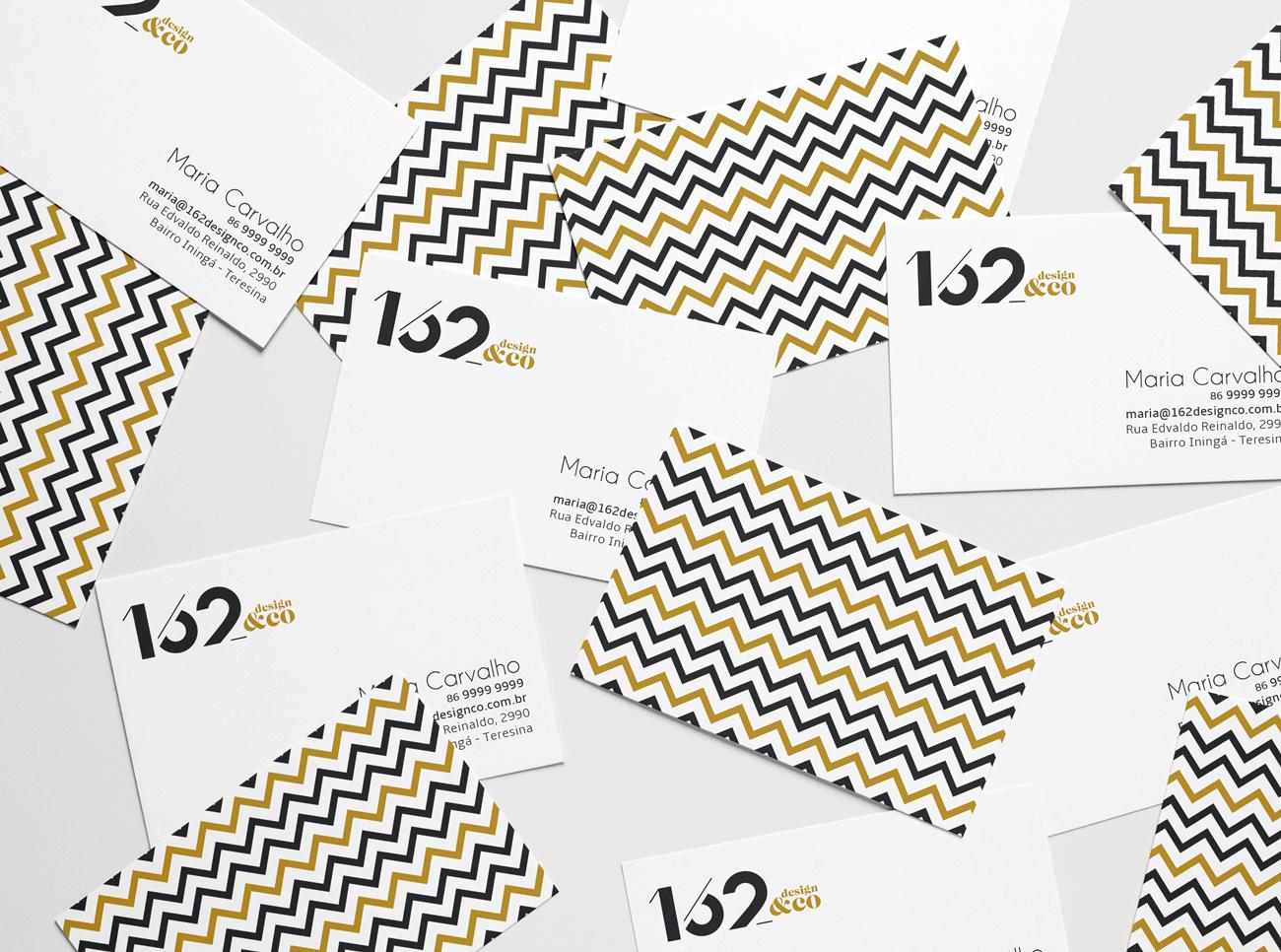 162 design cartão de visitas