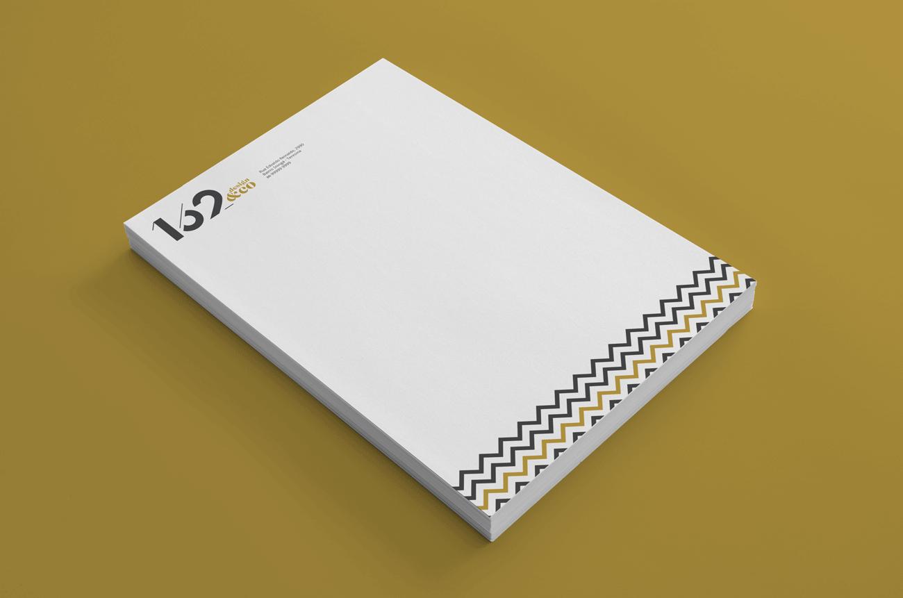 162 design papel timbrado