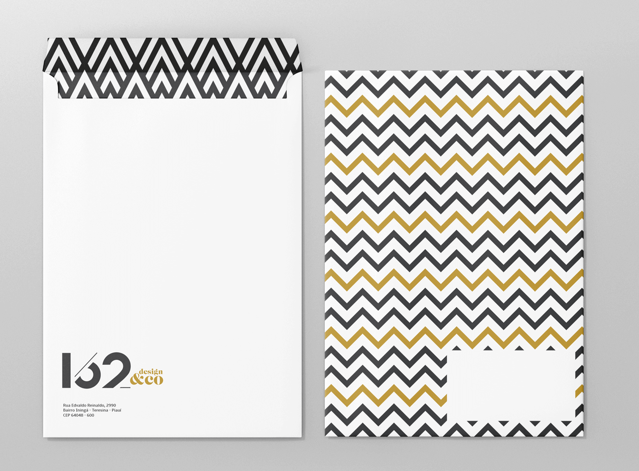 162 design envelope saco