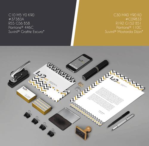 162 design paleta e stationery