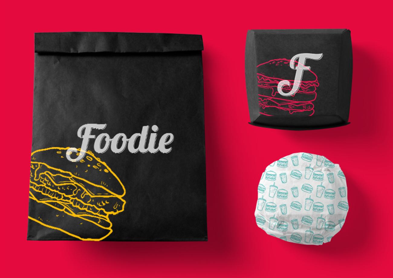 foodie embalagem